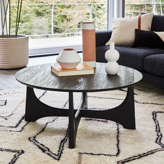 tanner solid wood coffee table