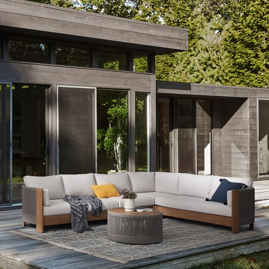 porto outdoor 4 piece l shaped sectional