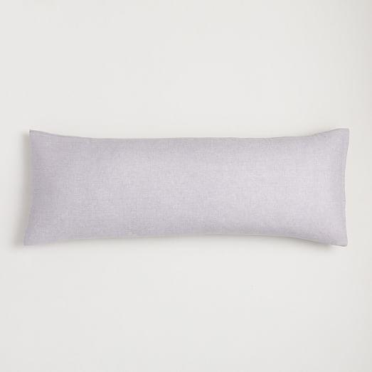 european flax linen body pillow cover