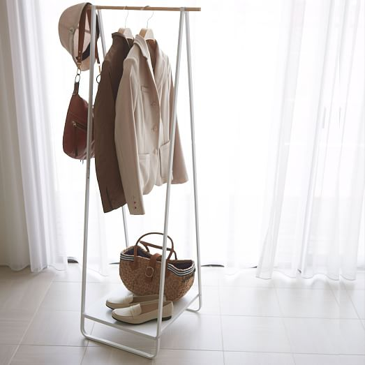 yamazaki free standing clothing rack