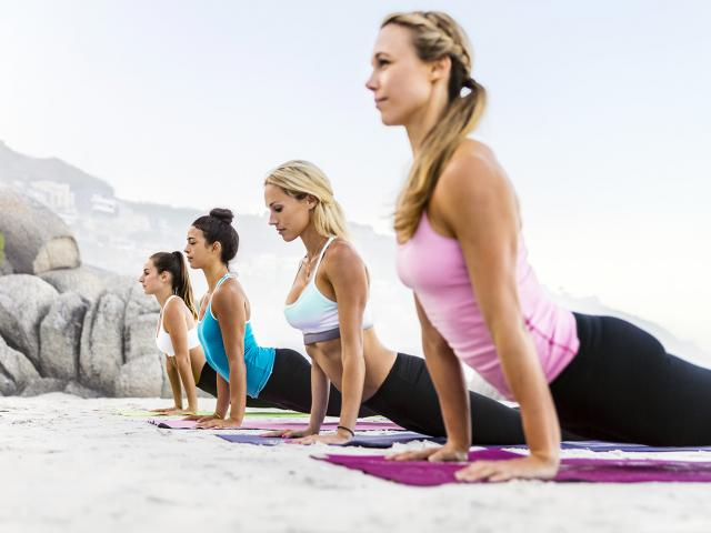 The Best Gym Hairstyles Yoga Women's Health