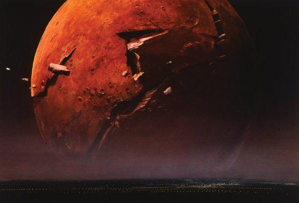 Fantastic Sci-fi Art Shows Beautiful Bewildering