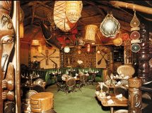 Vintage Tiki Bar Restaurant