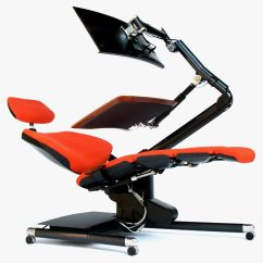 Recliner Chair Laptop Stand Cracker Barrel Rocking Chairs Coupon Forget Standing Desks: Are You Ready To Lie Down And Work?   Wired