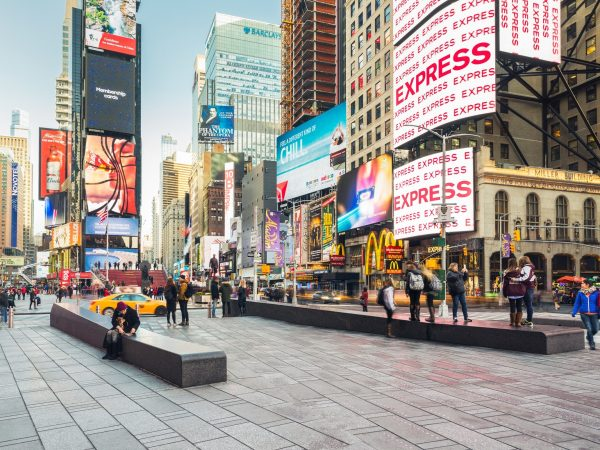 Brilliant Simplicity Of York' Times Square Wired