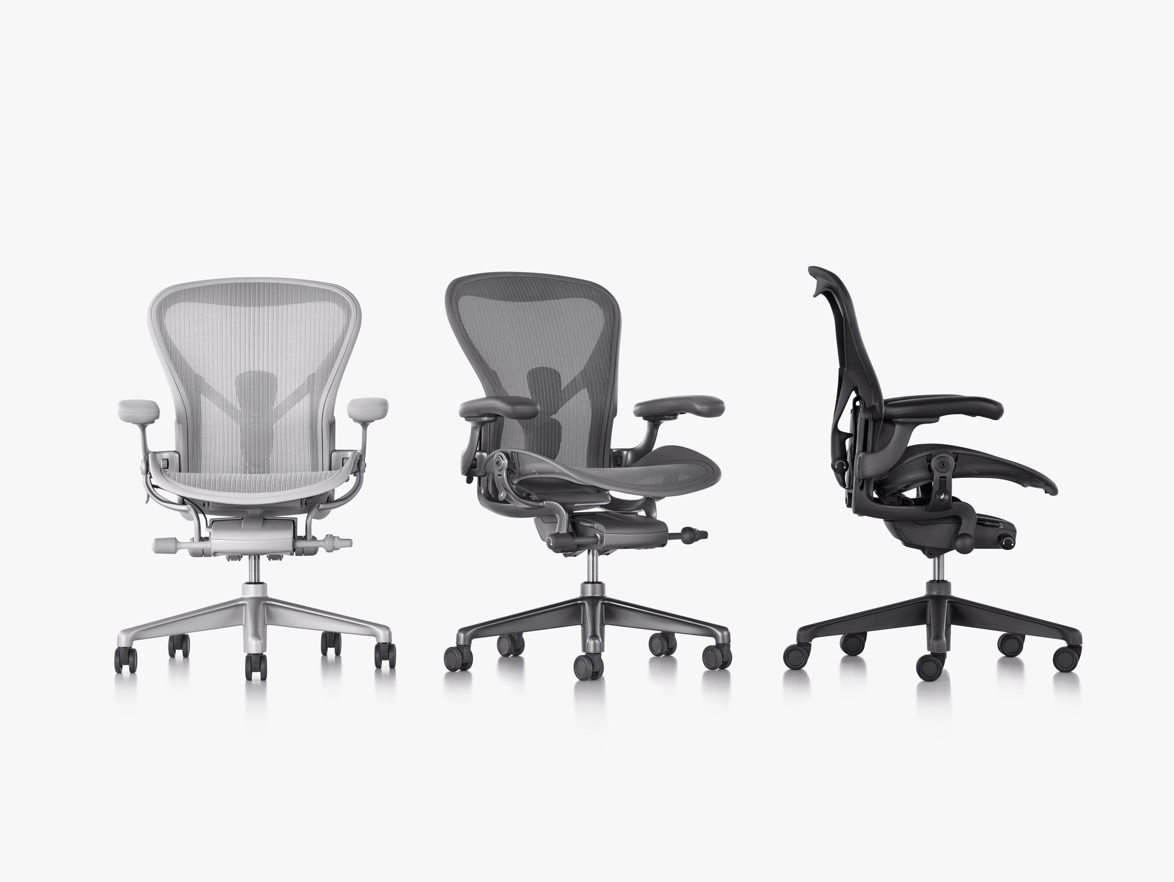 aeron chair manual circular sofa herman miller just redesigned its iconic wired