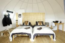 Luxury Hotel White Desert Antarctica