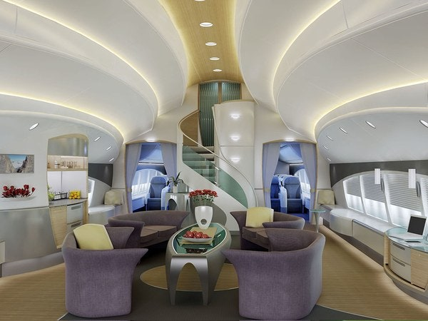 The Jumbo Jets Boeing And Airbus Turn Into Posh Private