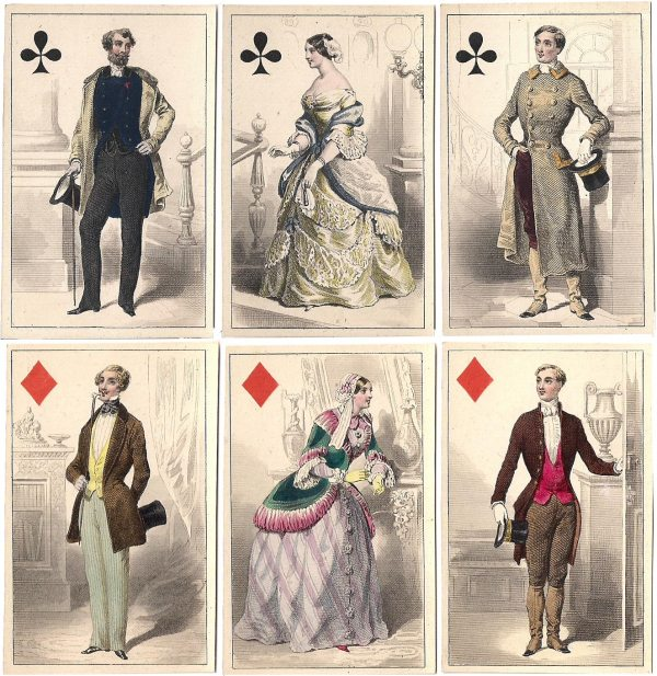 French Costumes - World Of Playing Cards