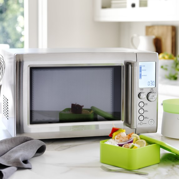 breville quick touch microwave oven