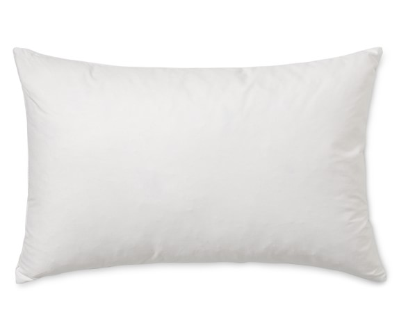 williams sonoma outdoor lumbar pillow insert