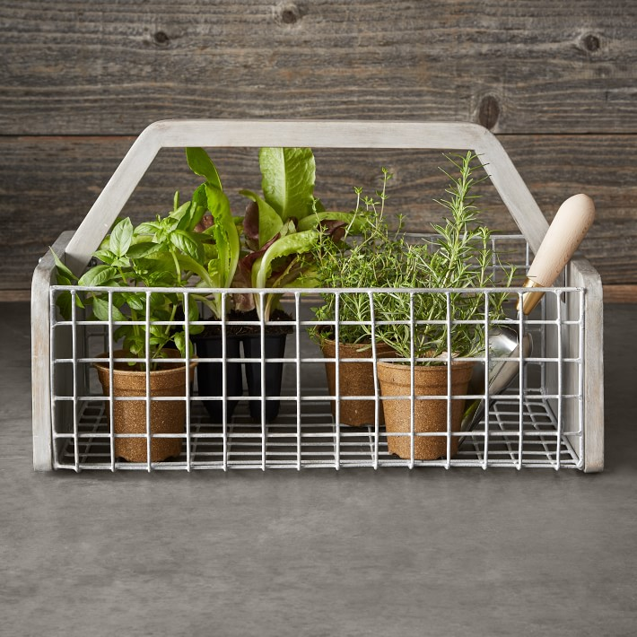 Williams Sonoma Gardening Basket