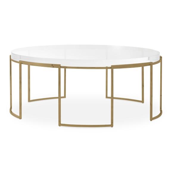lago round coffee table