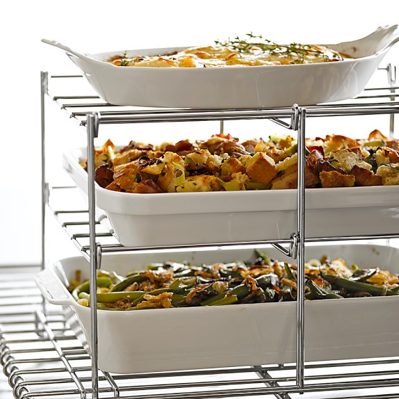 three tiered oven rack baking tools