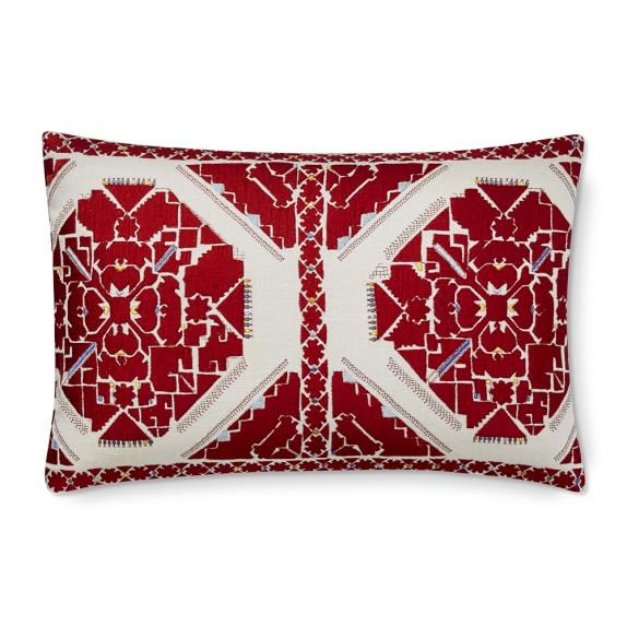 rio red antique jaipur embroidered