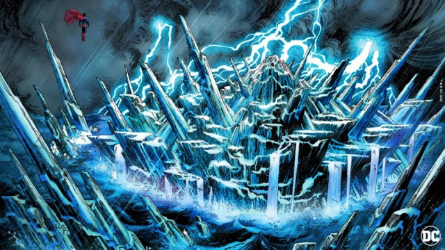DC: The Fortress of Solitude - Virtual Background - 800px