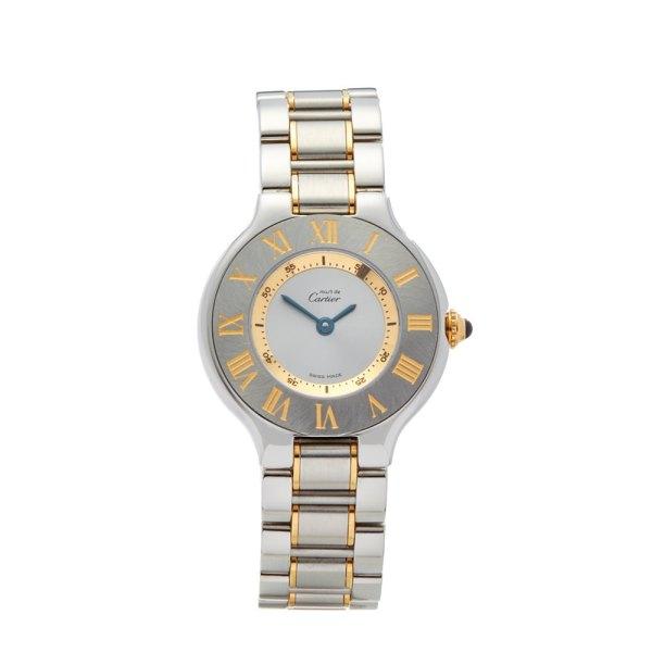 Cartier De 21 1340 W10073r6 2000' W4574