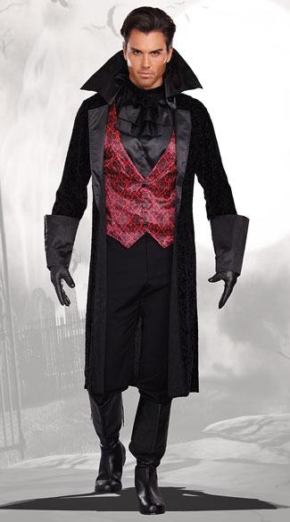 Sexy Male Vampire Costume : vampire, costume, Men's, Bloody, Handsome, Vampire, Costume,, Costume