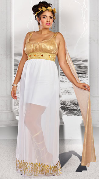Plus Size Goddess Athena Costume Plus Size Goddess of War