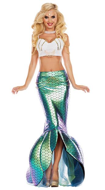 Under The Sea Mermaid Costume Sexy Mermaid Costume