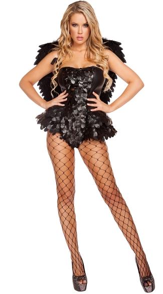 Devious Dark Angel Costume Sexy Dark Angel Costume Sexy