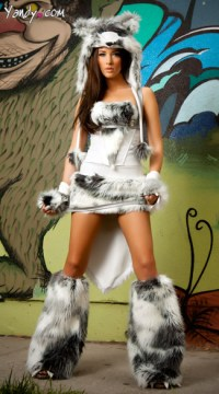 The Husky Deluxe Corset Skirt and Tail, The Husky Deluxe ...