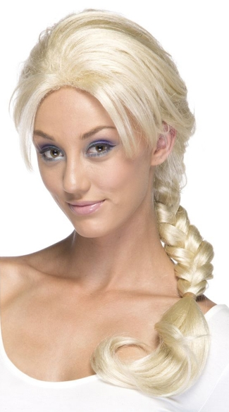 Braided Blonde Wig Platinum Blonde Braided Wig Long