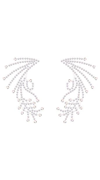 Diamond Angel Eye Crystals, Rhinestone Eye Crystals