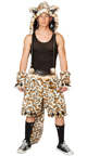 Mens Leopard Costume Mens Leopard Shorts Male Leopard