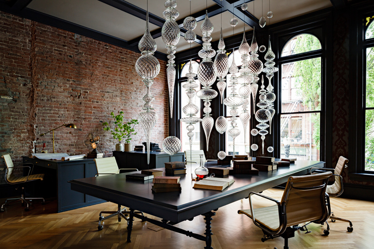 Gothic Office By Jessica Helgerson Interior Design Portland USA