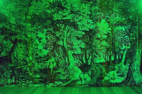 RGB Fabulous Landscapes by Carnovsky during Salone del Mobile 2013   Photo by Nick Hughes for Yellowtrace.