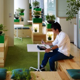Google Japan, Japan by Klein Dytham Architects | Yellowtrace.