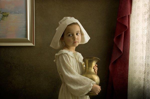 Bill Gekas Portraits Of Daughter Master Paintings