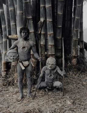 Asaro Tribe, Indonesia. Photo by Jimmy Nelson   Yellowtrace