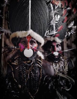 Kalam Tribe, Papua New Guinea. Photo by Jimmy Nelson   Yellowtrace