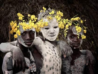 Karo Tribe, Ethiopia. Photo by Jimmy Nelson   Yellowtrace