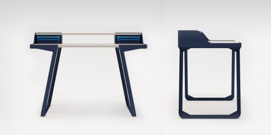 7 Bis Repetita Writing Desk by Cyril de Moulins for POLIT | Yellowtrace
