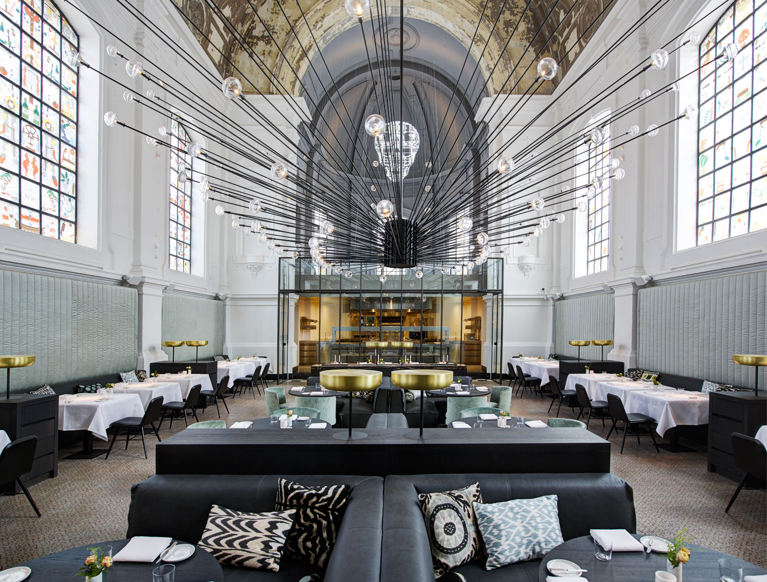 The jane antwerp divine fine dining by piet boon for The restaurant