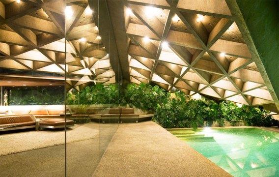 Sheats Goldstein House by John Lautner | Yellowtrace