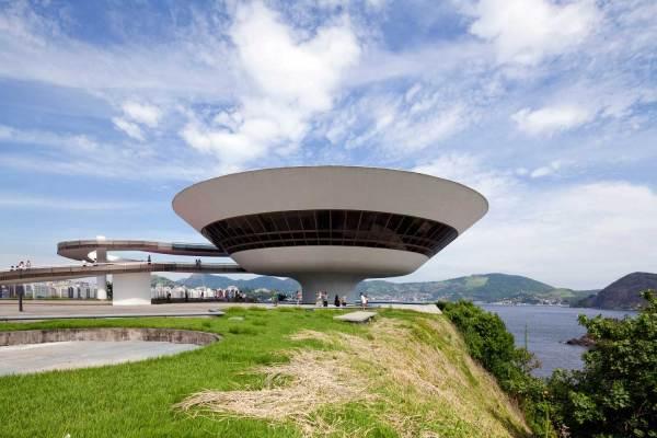 Contemporary Art Museum Rio De Janeiro Brazil