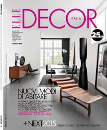 ELLE Decor Magazine Covers 2015