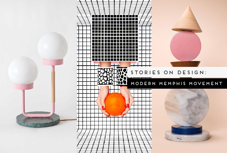 modern memphis design trend