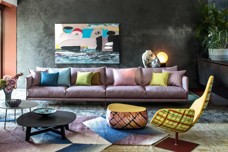 moroso furniture shot inside patrizia moroso 39 s house. Black Bedroom Furniture Sets. Home Design Ideas