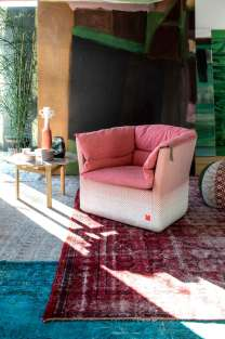 Moroso Product Shot at Patrizia Moroso House | Yellowtrace