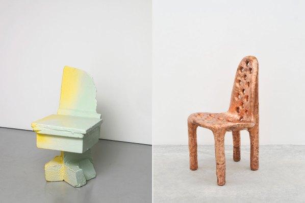 Max Lamb Chairs at 5Vie Milan Design Week | Yellowtrace