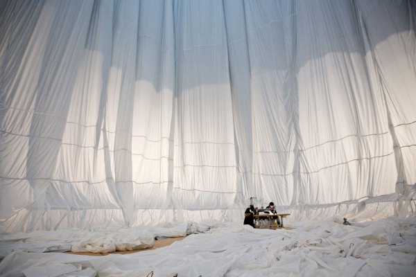 By Big Air Package Christo Installation