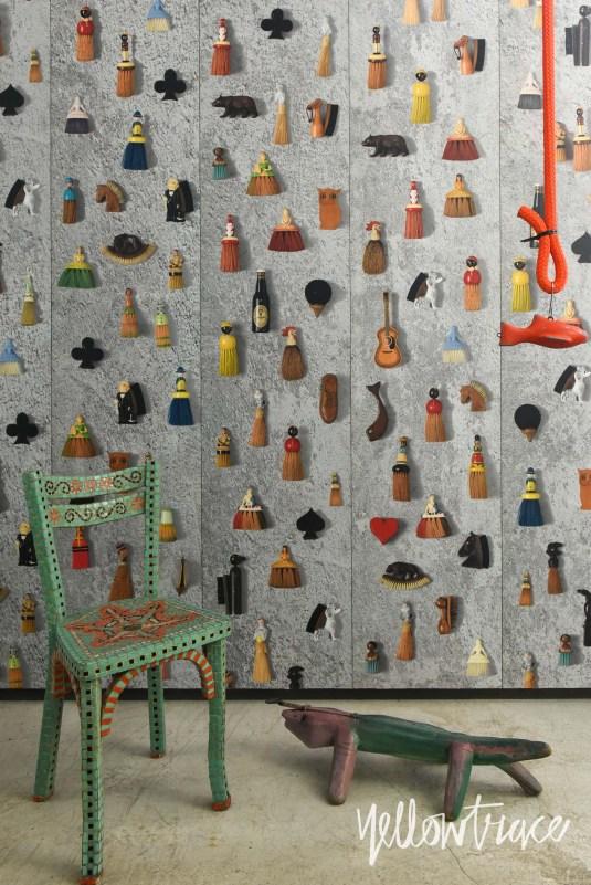 NLXL Wallpaper at Studio Paola Navone in Tortona During Milan Design Week | #MILANTRACE2015