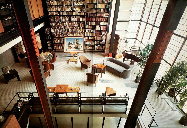 maison de verre paris by pierre chareau bernard bijvoet. Black Bedroom Furniture Sets. Home Design Ideas