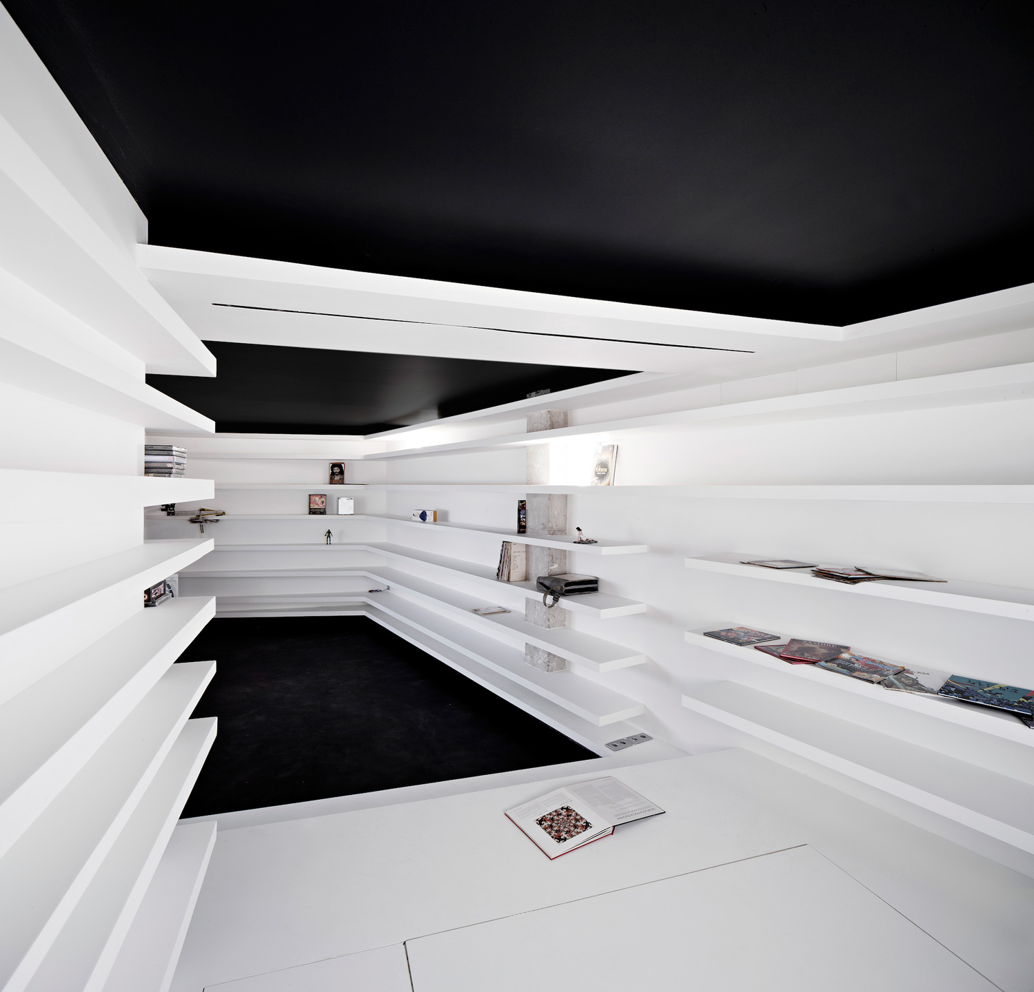Unconventional Ways To Extend The Storage Space by YOY Design