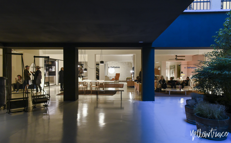 De Padova Showroom Milan by Piero Lissoni | Yellowtrace